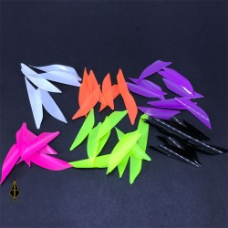 XS Wings Fluorescent Colour 40mm