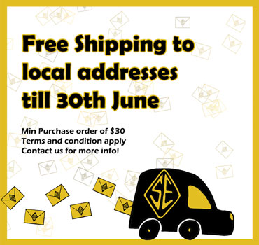 Free Shipping to local address 30th june
