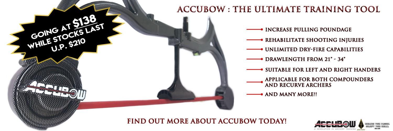 Accubow Sale